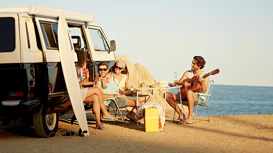 amigos fiesta Ibiza