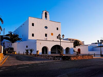 Iglesia en San José.