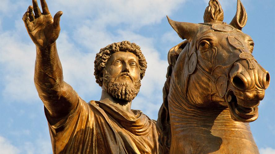 Marco Aurelio en Campidoglio