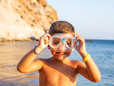 buceo niños en Ibiza