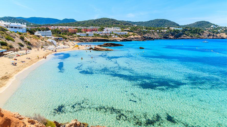 Playa de cala Tarida