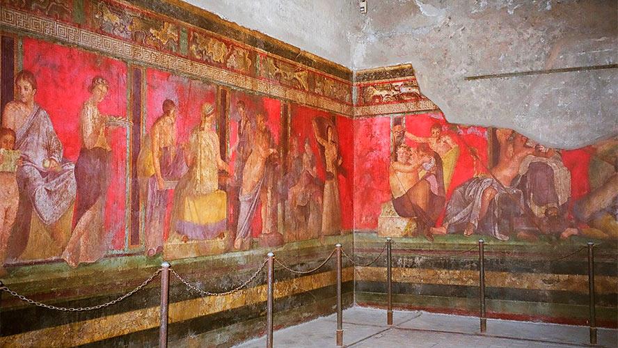 Villa de los Misterios Pompeya