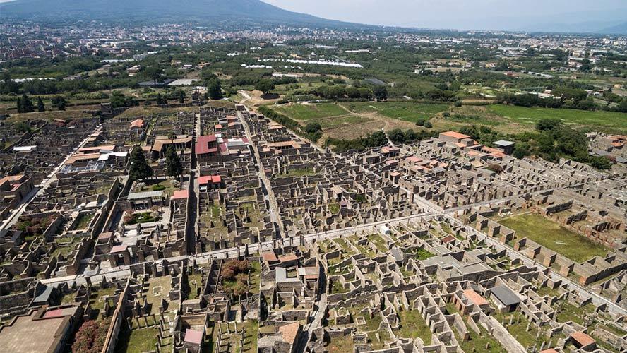Ruinas de la antigua Pompeya