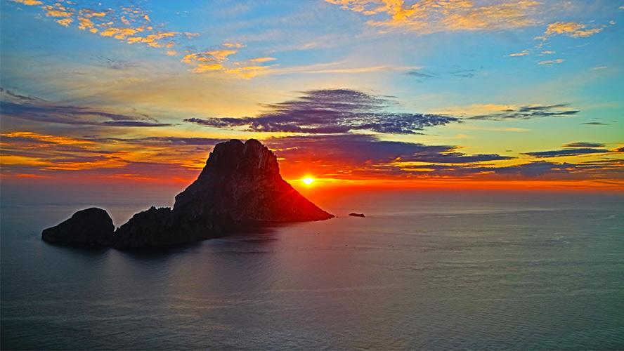 puesta de Sol en Es Vedrá