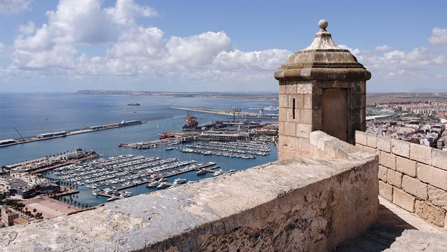 Qué ver en Alicante Castillo de Santa Bárbara