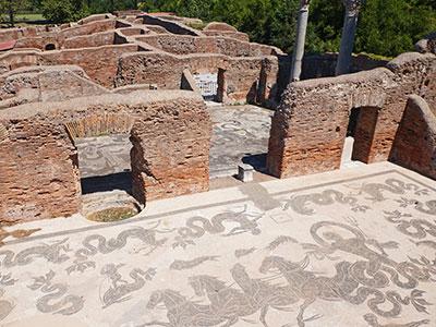 Termas Ostia Antica