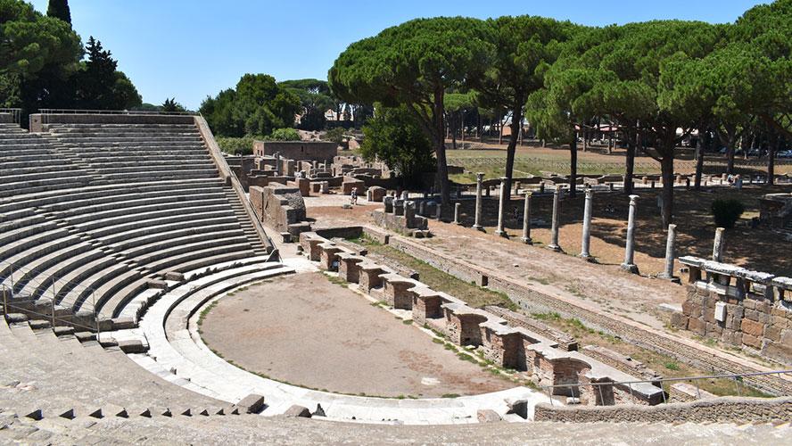 Yacimiento de Ostia Antica