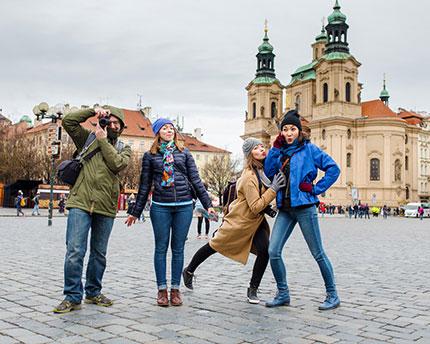 Praga con amigos