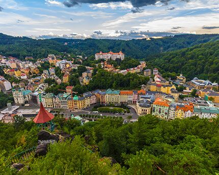 Balnearios cerca de Praga