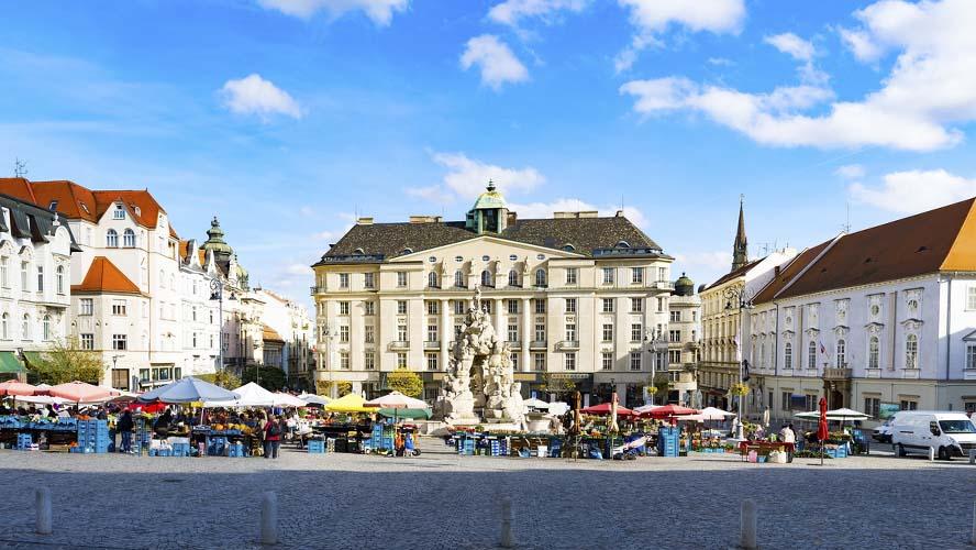 Mercado de Verduras Brno