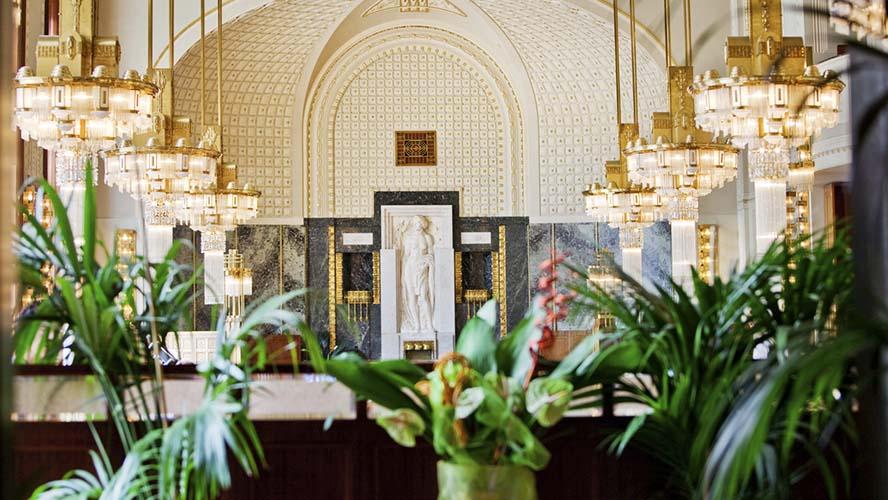 Café imperial en Praga
