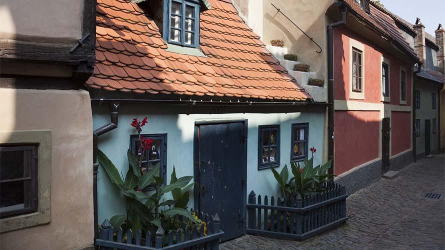 Casa tradicional en el Callejón del Oro