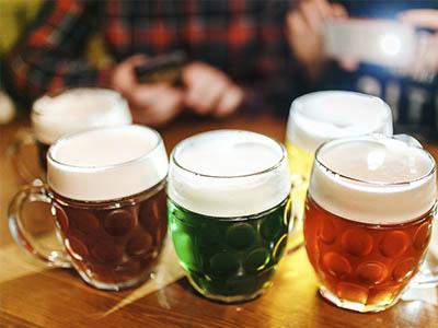 Diferentes tipos de cerveza para degustar