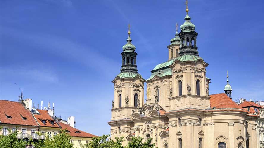 La fachada de la Iglesia de San Nicolás
