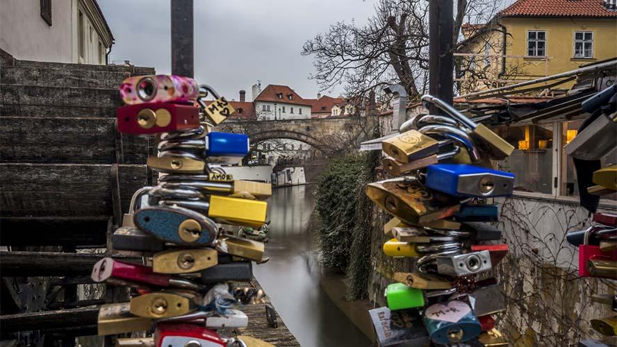 Puente de los Candados Praga