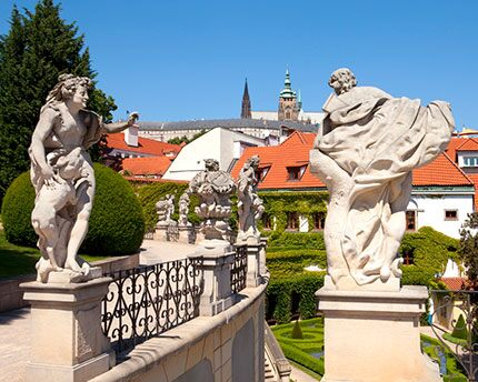Jardín Vrtba de Praga