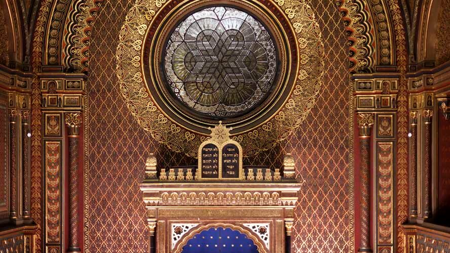 Sinagoga española interior