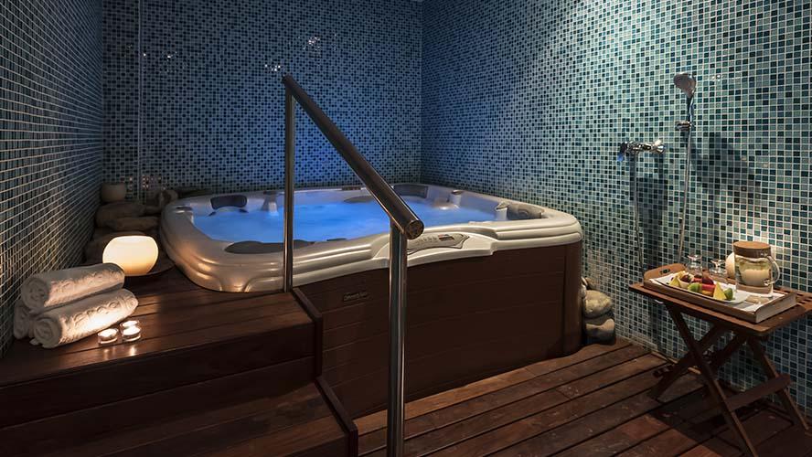 El Spa del Hotel Barceó Monasterio de Boltaña