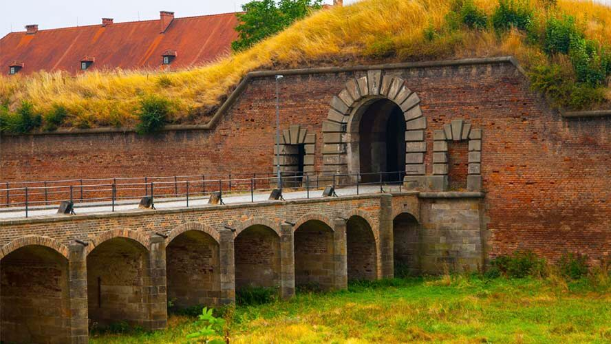 Entrada a Terezín