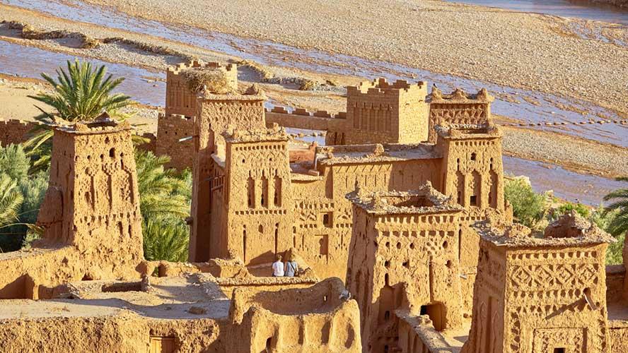 Edificios de Ait Ben Haddou