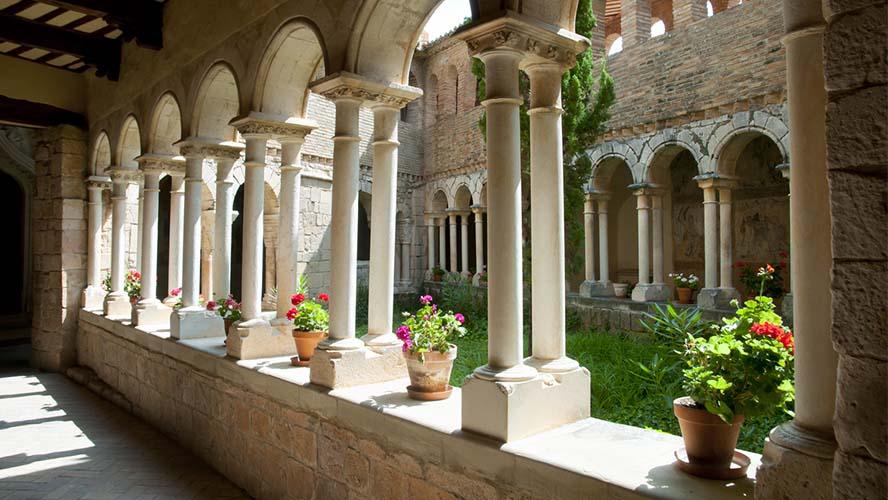 Colegiata de Santa María la Mayor, interior