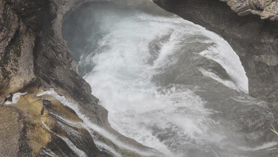 Cascada de Estrecho