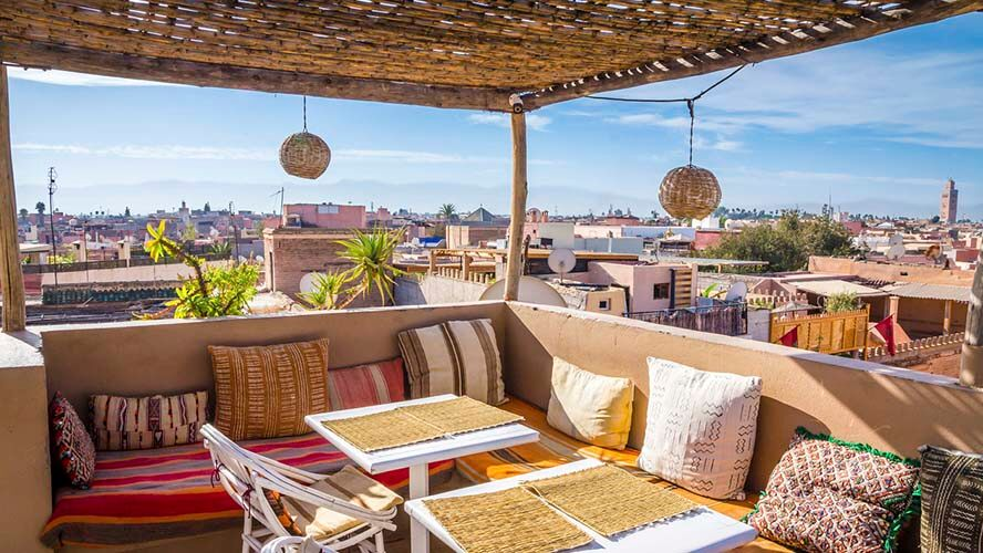 Restaurantes de lujo en Marrakech