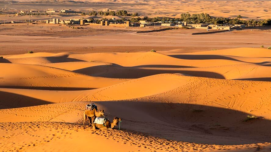 Pueblo desierto Mezouga