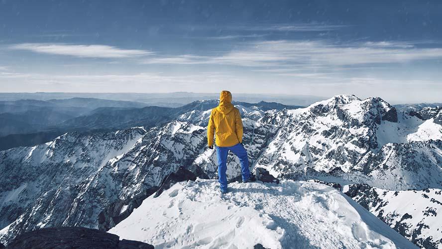 Cima del Monte Toubkal