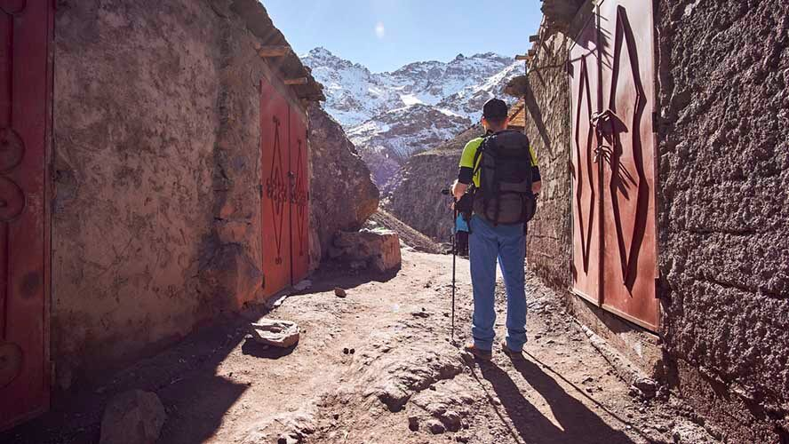 Ruta hacia el Monte Toubkal