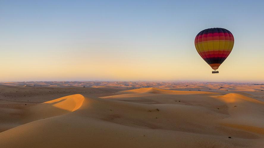 Vuelo en globo cerca de Marrakech