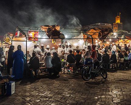Salir en Marrakech