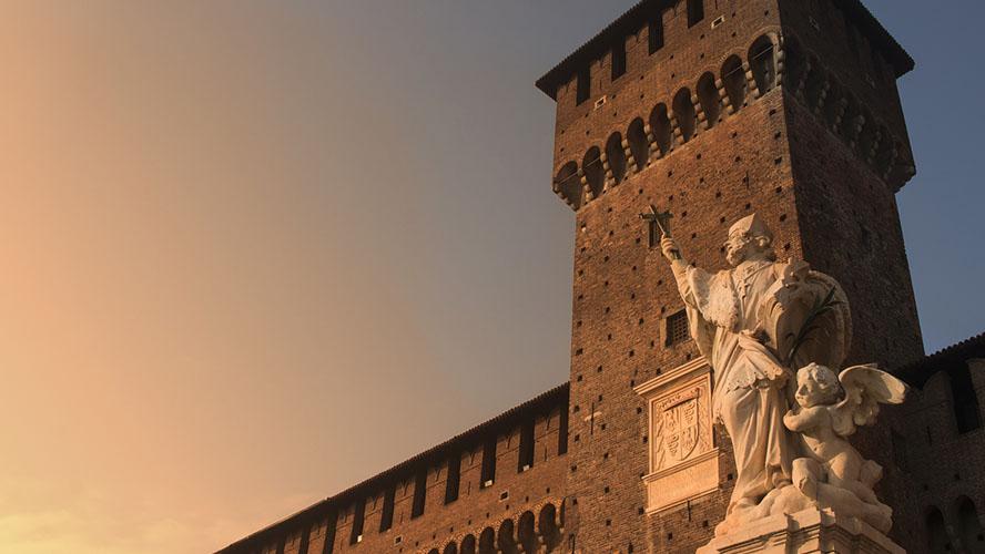 Descubre el espectacular Castello Sforcesco