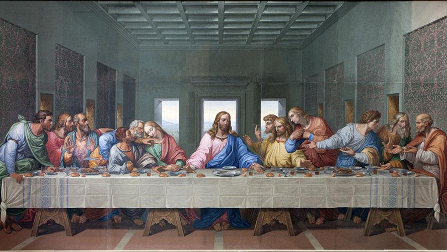 Representación del Cenacolo Vinciano