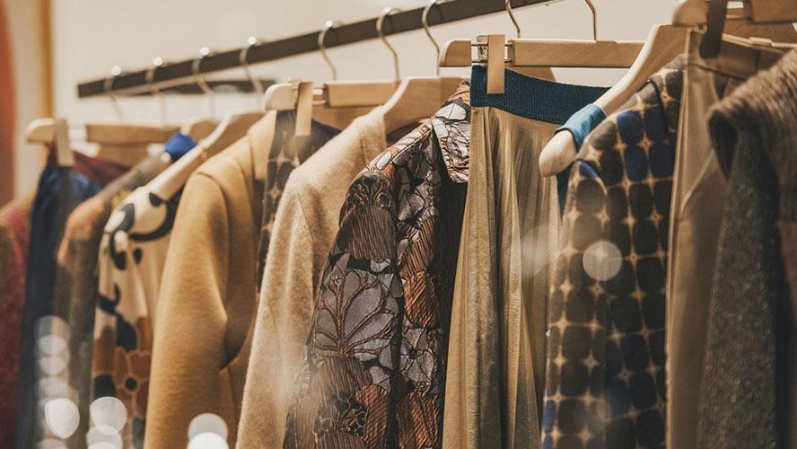 Tienda de ropa en Milán