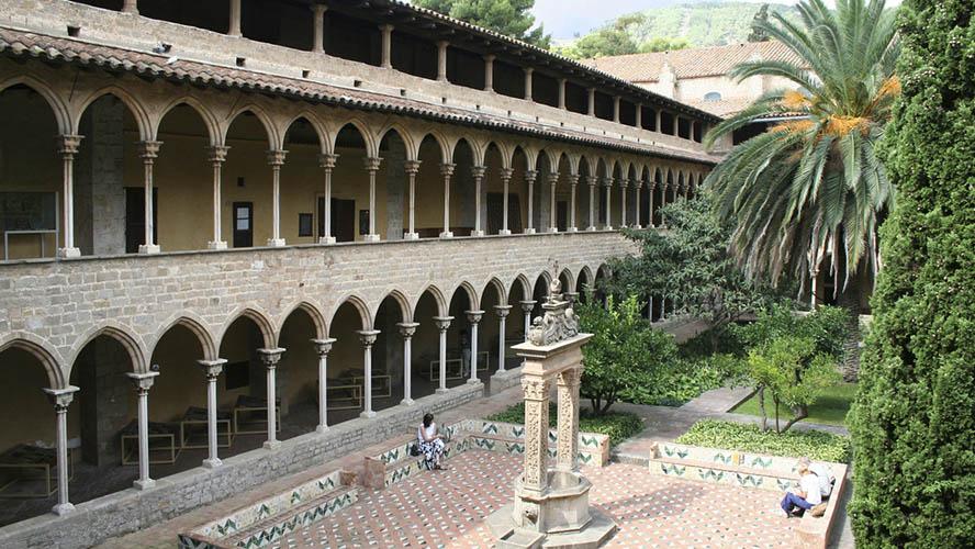 Patio del Monasterio de Pedralbes