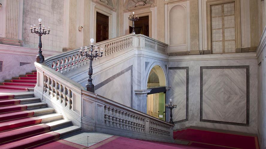Interior del Palacio Real de Milán