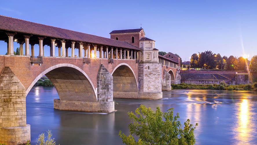Puente Cubierto de Pavia
