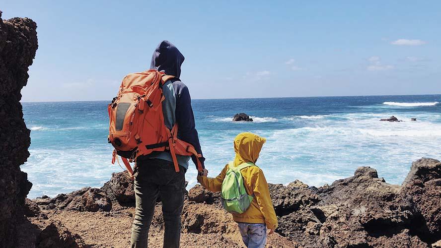 Un paseo por la costa de Lanzarote