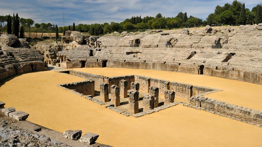 ruinas romanas de italica