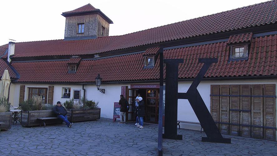 Museo de Kafka en Praga