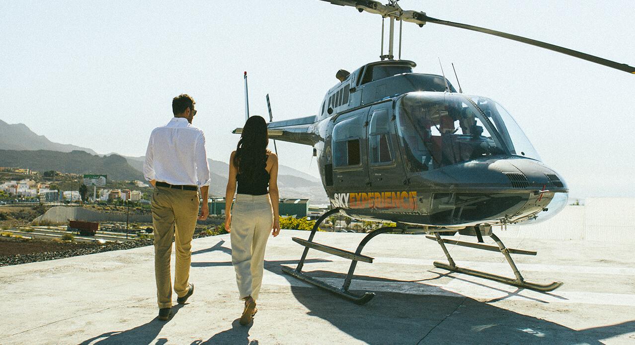 Was auf Teneriffa unternehmen? Teide-Tour im Hubschrauber