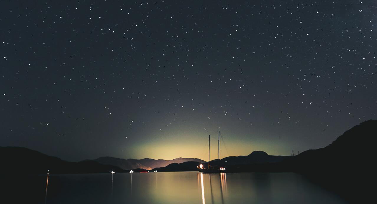Der Vulkan Teide mit Sternenbeobachtung