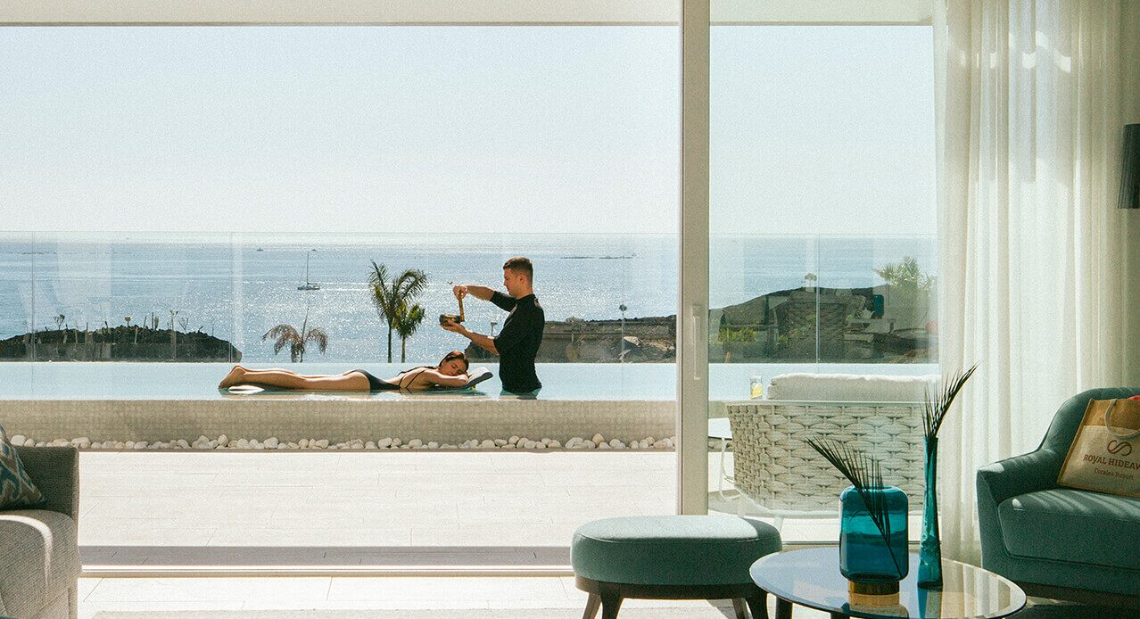 A combined massage and spa. Tenerife holidays: a dream come true