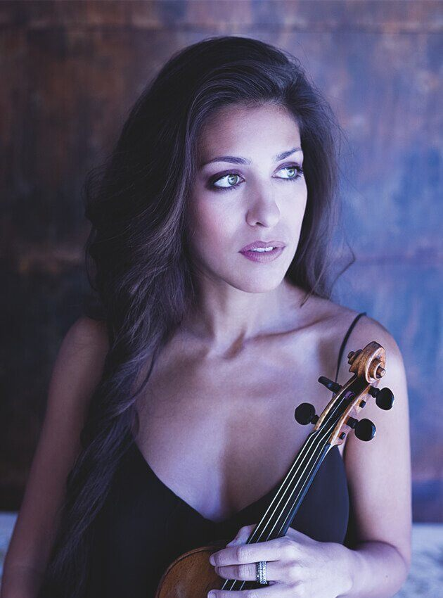 Leticia Moreno and her violin delve into