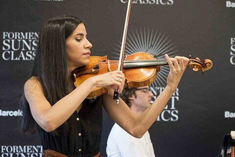 ONE OF SPAIN'S MOST ACCLAIMED VIOLINIS